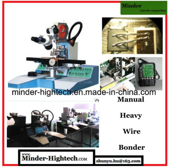 Manual Ultrasonic Wedge Wire Bonding Machine Mdb7550 pictures & photos