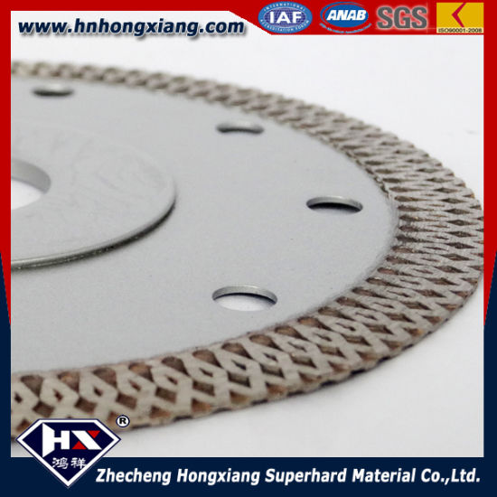 Cyclone Mesh Turbo Diamond Saw Blade for Ceramic Granite Marble pictures & photos
