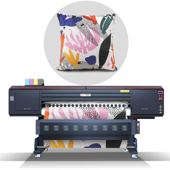 Mtutech New Industrial Large Format Digital Textile Sublimation Printer with Six Epson I3200 Printhead