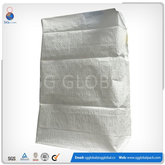 30kg Waterproof Cement Polypropylene Woven Valve Bag pictures & photos