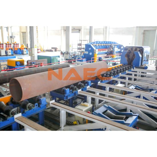 High Speed CNC Pipe End Beveling & Tapering / Reducing Machine