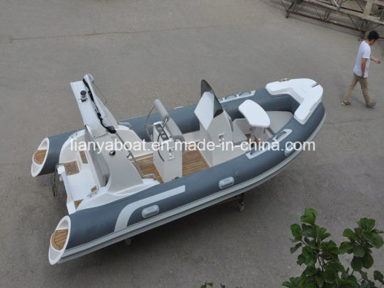Liya 5.2m Inflatable Fiberglass Boat Luxury Yacht for Sale