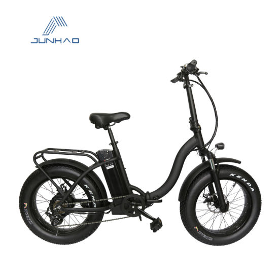 20'' Aluminum Alloy Electric Fat Tire Bike with Bafang Motor CE Approved