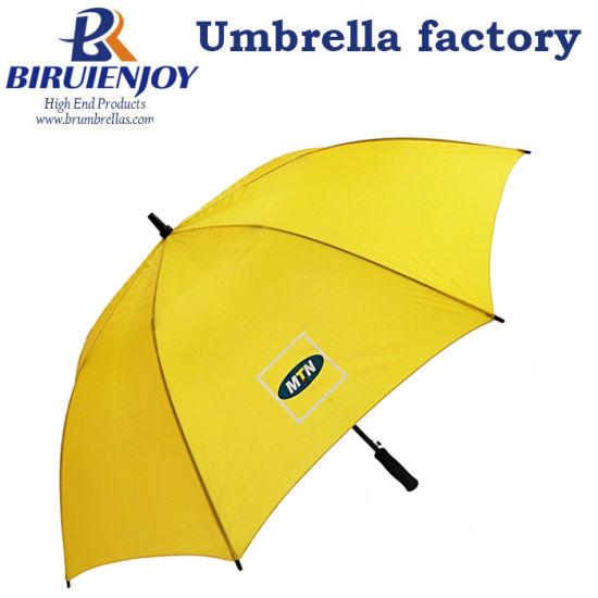 Custom Logo Golf Umbrella Auto Open and Manual Close Advertising Umbrella