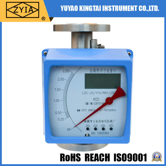 Lzz Series Low Cost Variable Area 4-20mA Digital Oil Flow Meter