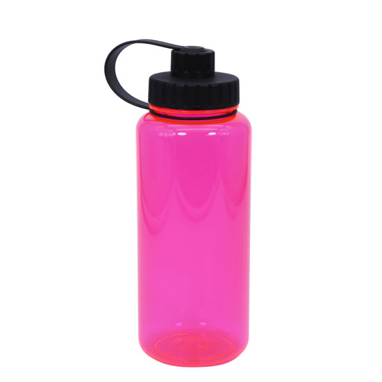 1000ml Large Capacity Sports Bottle - Eco Friendly and BPA Free Tritan Plastic - Must Have Gym, Yoga, Running, Outdoor.