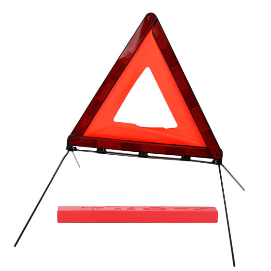 Certification Traffic E-MARK Car Emergency Tools Reflective Warning Triangle for Road Safety pictures & photos