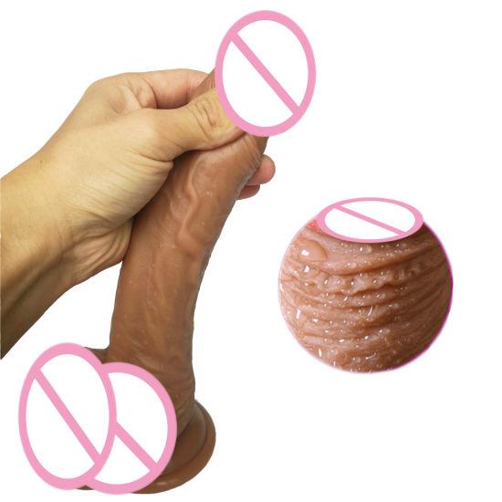 Adult Masturbator Stick Medical Dildo Sex Product for Female