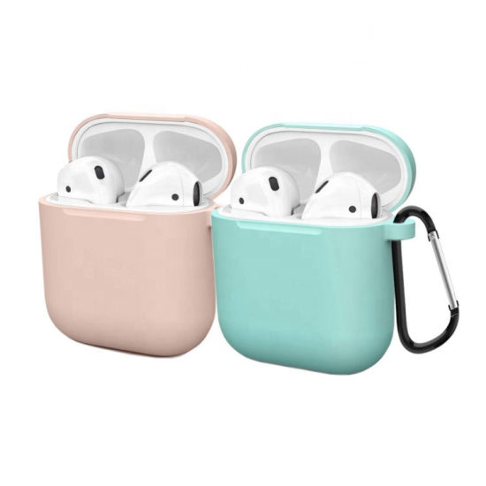 Wireless Earphone Blue Tooth Airpods Case Protective Cover Silicone Airpods Cases Cover