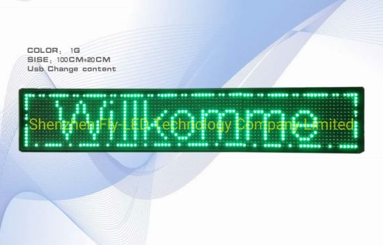LED SIGNS OUTDOOR SCROLLING 960mm x 160mm PROGRAMMABLE MESSAGE DISPLAY BOARDS
