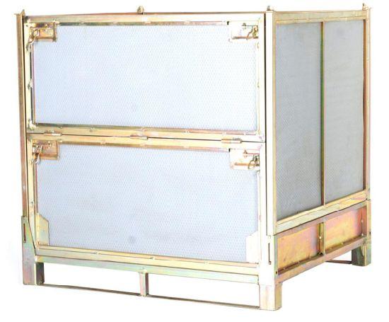 Foldable Storage Cage, Colorful Zinc Plating Galvanization