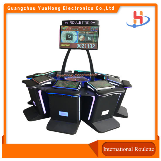 Royal Club American Roulette Game Video Touch Screen Electronic Game Machine