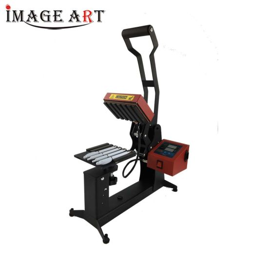 Heat Transfer Sublimation Pen Press Machine with Double Digital Display