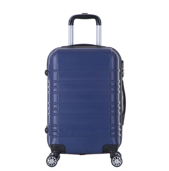 2019 High Quality Luggage Trolley Luggage ABS Custom Design Suitcases Xha158