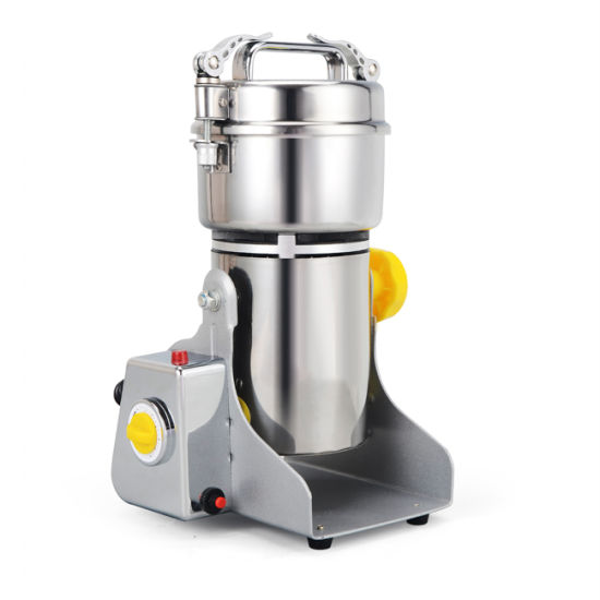Electric Stainless Steel 250g Powder Swing Grain Pulverizer Grinder Machine
