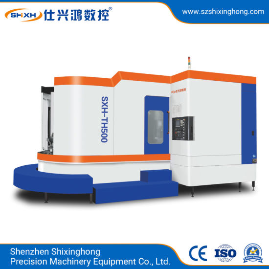 Sxh-Th500 CNC Horizontal Machining Center for Metal Parts, Stainless Steel, 3c Products, Mold, Auto Parts, Telecom Device, Hardware Processing