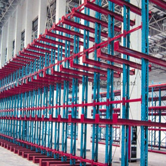 Warehouse Storage Heavy Duty Cantilever Racking for Irregular Goods