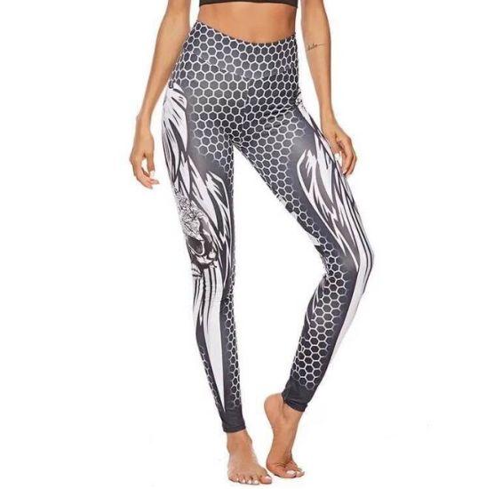 Elasticated Waist Leggings Woman Simple Personality Fashion Skin-Friendly Cotton