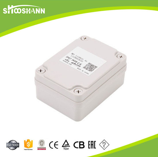 IP67 Plastic Waterproof Electricsl Junction Box with Ce