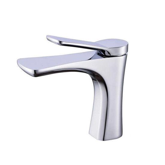 Luolin Bathroom Basin Faucet Vanity Mixer Sink Tap Lead Free Brass Lavatory Sink Hand Wash, Chrome 148-2
