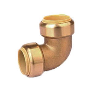 Pushfit Fittings Brass Equal Elbow for American Market