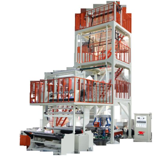 Double-Layer Co-Extrusion Rotary Machine-Head Film Blowing Machine