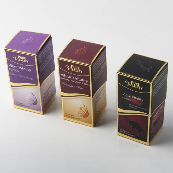 Luxury Custom Logo Packaging Perfume Box for Oil Bottle