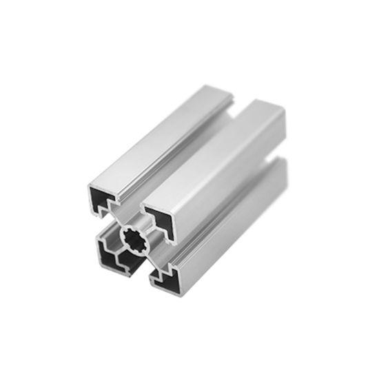 Silver Anodized 6063 T5 Alloy Linear Rail Aluminium Profiles 4020 OEM 2020  Aluminum Profile
