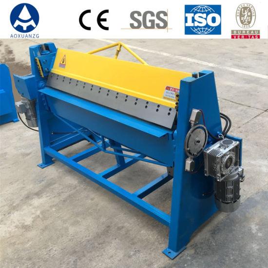 Dws-1.5*1300 Carbon Steel/Galvanized Sheet/Aluminum Pneumatic Folding Bending Machine