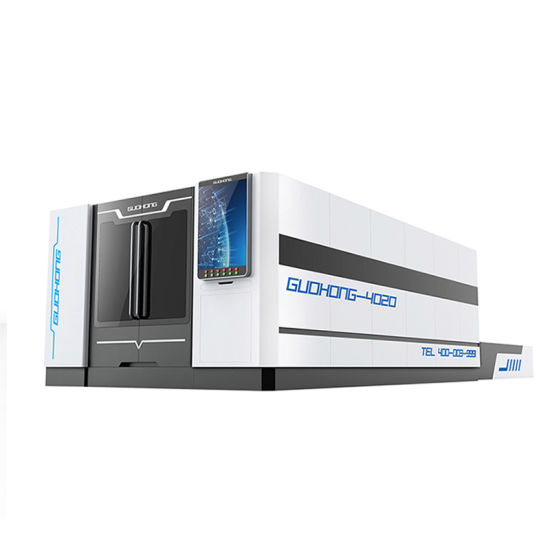 Full Protection High Speed Enclosed Fiber CNC Laser Cutter for Sheet Metal Steel Plate