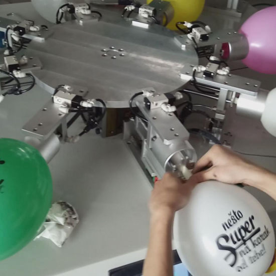 Automatic Balloon Screen Printing Machine pictures & photos