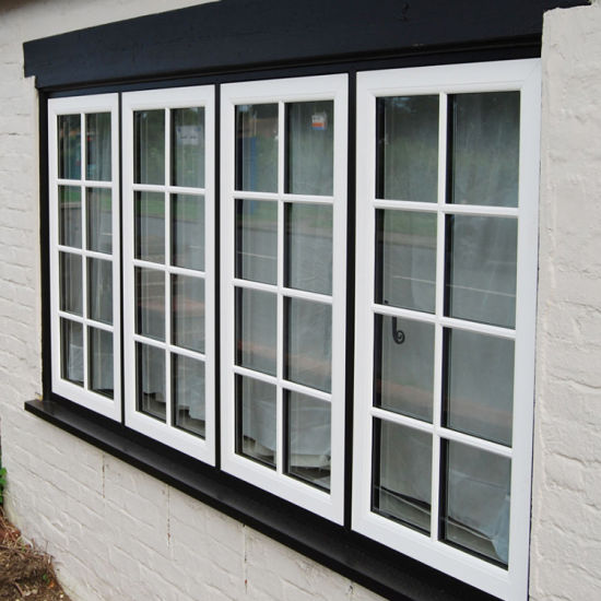 Aluminum White French Casement Window Windows
