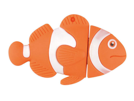 Best Price Cartoon Clownfish USB 2.0 Flash Drive pictures & photos