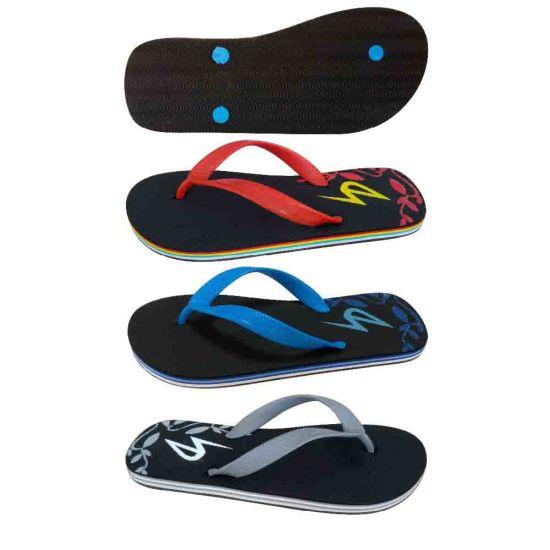 3e6f7683eebf China Men EVA Printed Beach Flip Flops with PVC Upper - China Shoes ...