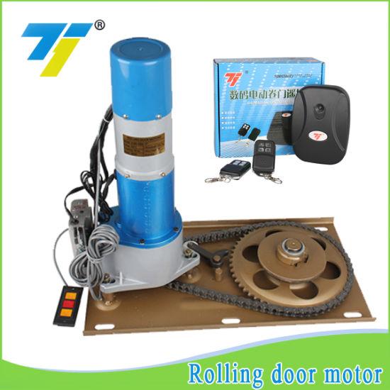 1000kg Fireproof Rolling Door Motor Control by Mobile From Zhangzhou