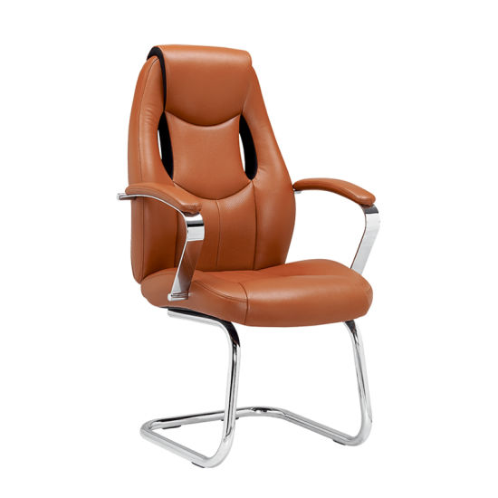 Modern Soft Pad Leather Executive Office Visitor Guest Chair (FS-8812V) pictures & photos