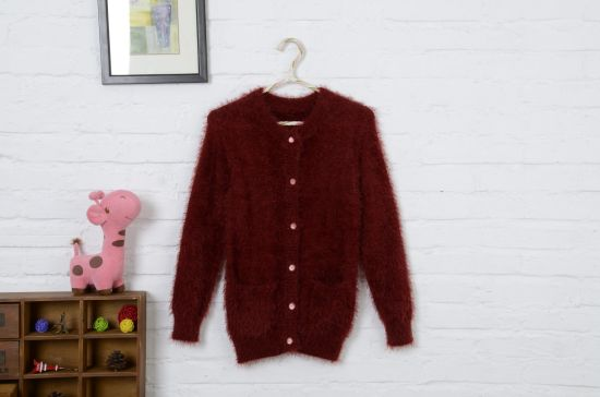 4770cbda7 China High Quality Mink Velvet for Girl′s Sweater Coat with Buttons ...