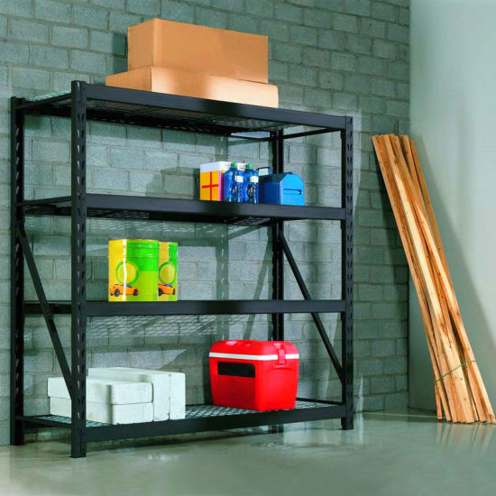 4-Tier Metal Industrial or Home Storage Garage Shelf pictures & photos