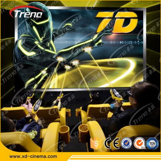 2015 High Return Theme Park 7D Cinema Simulator with Discount for Sale