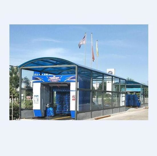 China Automatic Roll Mobile Car Wash Machine Equipment For Sale With