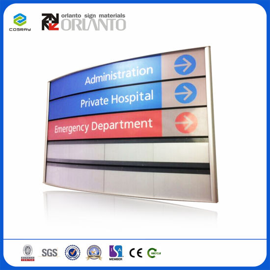 K Line Curved Modular Aluminium Profile Extrusion Signage pictures & photos