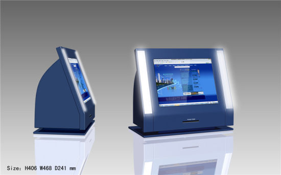 Free Standing Healthcare Desktop Payment Kiosk pictures & photos