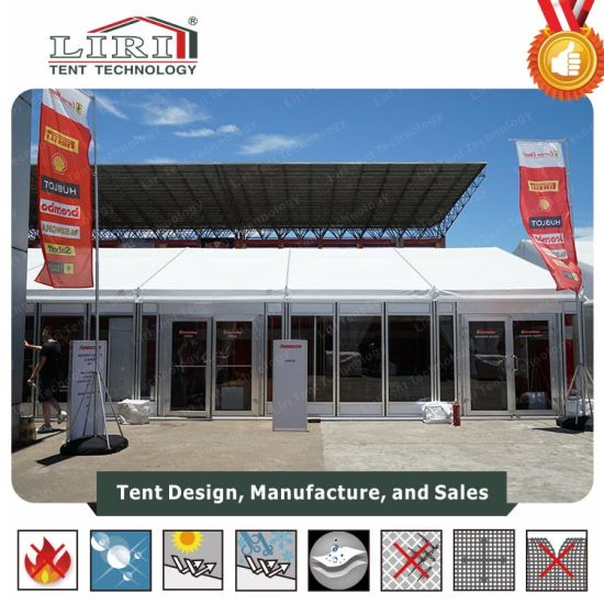 China High Classic Glass Tent For Outdoor Temporary Car Show China - Car show tent