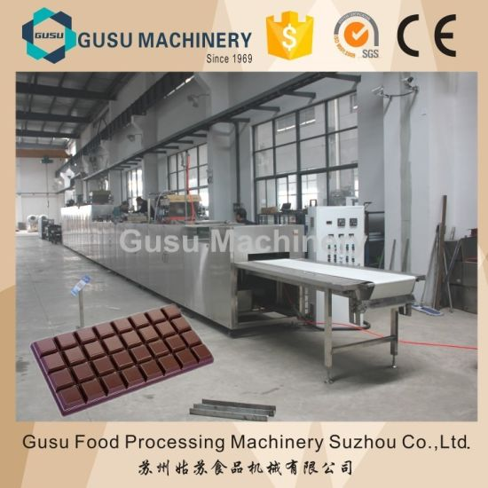 Full Automatic Control Chocolate Mold Filling Machine for French Fries pictures & photos