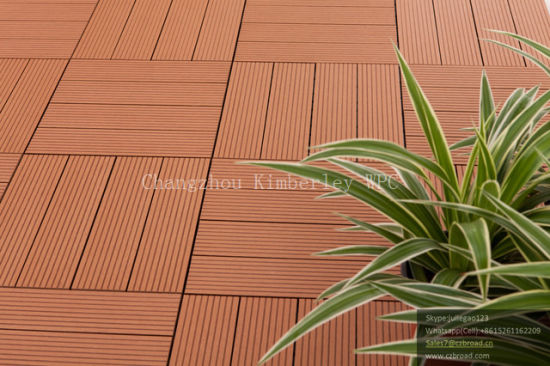China Factory WPC Timber Tiles for Patio pictures & photos