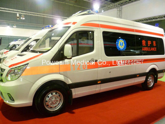 First Aid Foton Emergency Ambulance (BA-ADD1B8066JB)
