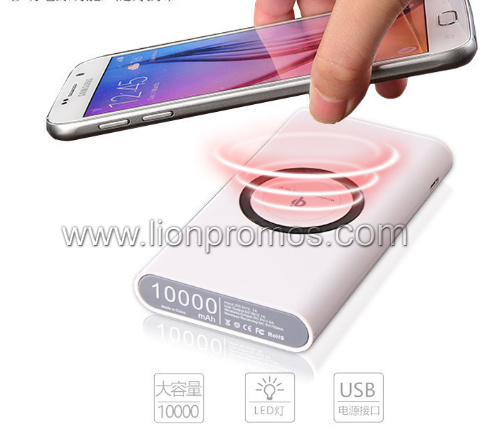 Wholesale Smart Phone Wireless Charger Qi Fast Wireless Charging Portable Charger Power Bank for iPhone 8X