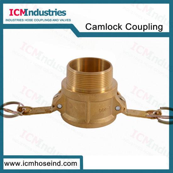 Brass Type B Camlock Hose Coupling