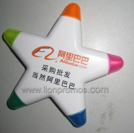 Promotional 3 Colors 5 Colors Highlighter Marker Pen pictures & photos
