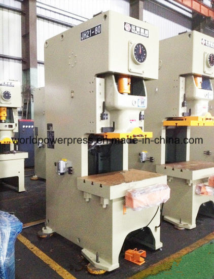 China 80 Ton C Frame Open Back Power Press pictures & photos